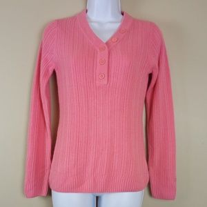 Women's Pink Izod Pullover Sweater Size X-SMALL